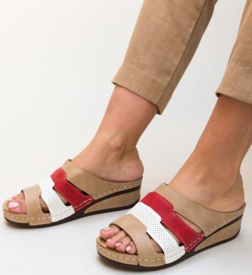 Papuci Anabia Khaki
