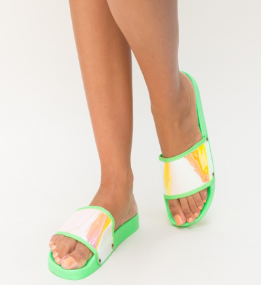 Papuci Bombo Verzi