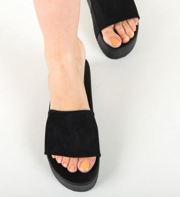 Papuci Escar Negri