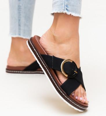 Papuci Morse Negri