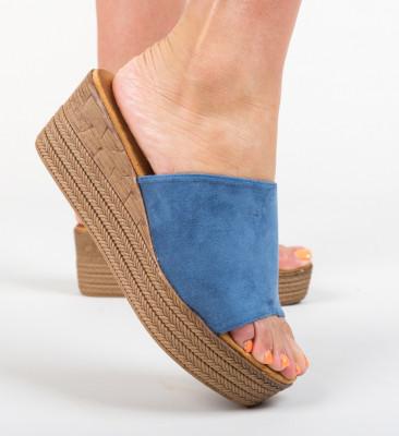 Papuci Nikki Albastri