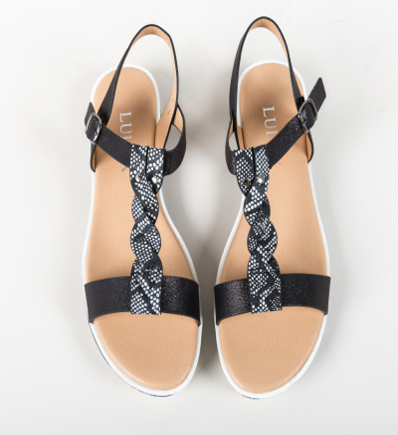 Sandale Kajar Negre