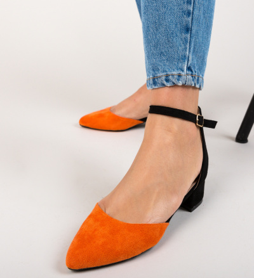 Sandale Kelinon Portocalii