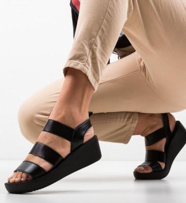 Sandale Milei Negre