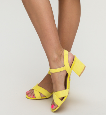 Sandale Stout Galbene