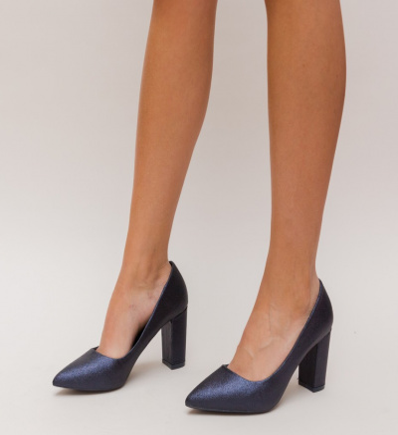 Pantofi Simera Bleumarin