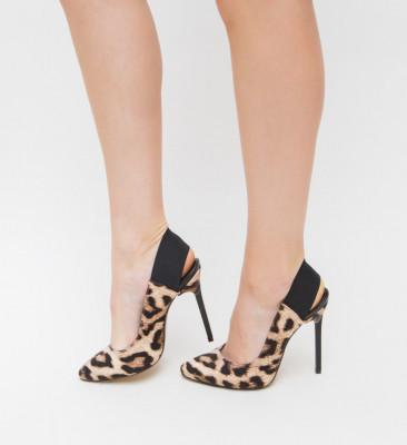 Pantofi Julius Leopard
