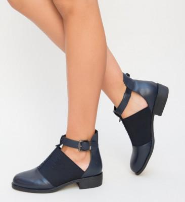 Pantofi Casual Loreta Bleumarin