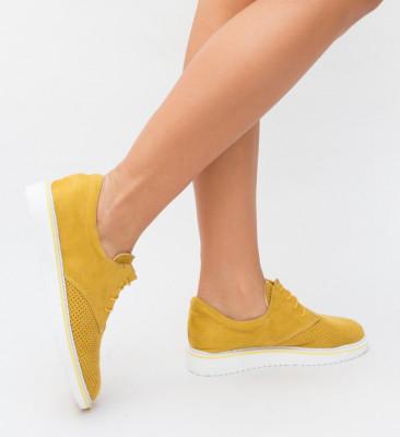 Pantofi Casual Skiatos Galbeni