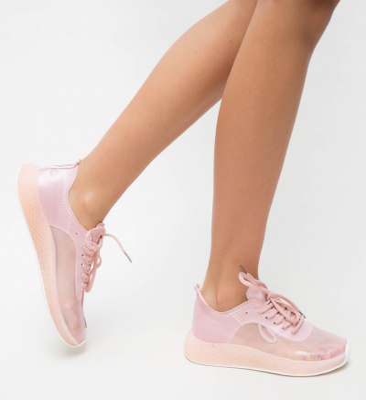 Pantofi Sport Demes Roz