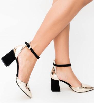 Pantofi Alio Aurii