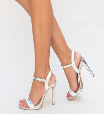 Sandale Fero Argintii