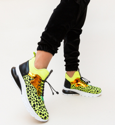 Pantofi Sport Leilani Galbeni