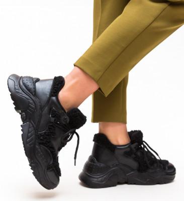 Pantofi Sport Puffi Negri