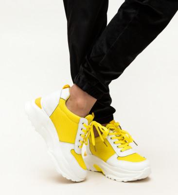 Pantofi Sport Marone Galbeni