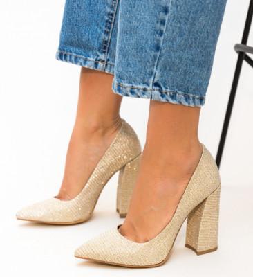 Pantofi Soreen Aurii