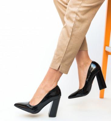 Pantofi Akeel Negri