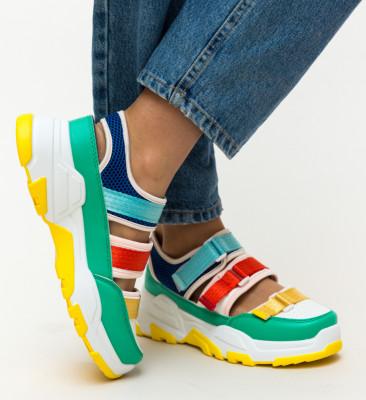 Pantofi Sport Zak Turcoaz