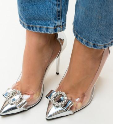 Pantofi Troli Argintii