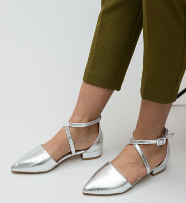 Pantofi Carli Arginti