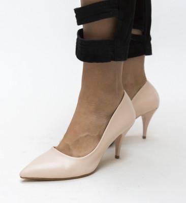 Pantofi Crunch Bej