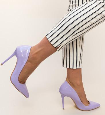 Pantofi Shaggy Mov