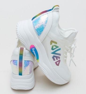 Pantofi Sport Solzen Albi