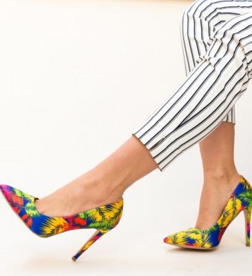 Pantofi Field Galbeni