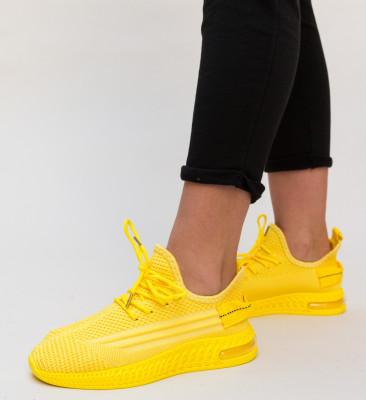 Pantofi Sport Susie Galbeni