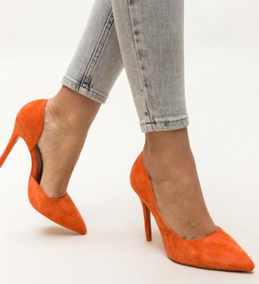 Pantofi Moses Portocalii