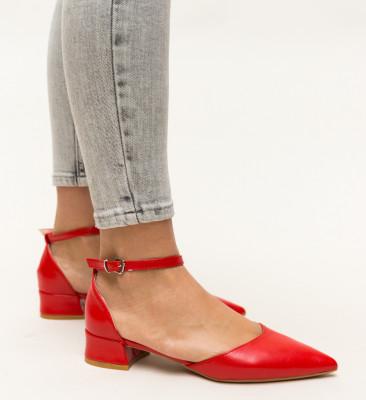 Pantofi Barrera Rosii