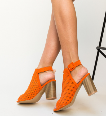 Sandale Instrum Portocalii