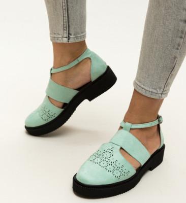 Pantofi Casual Aston Turcoaz