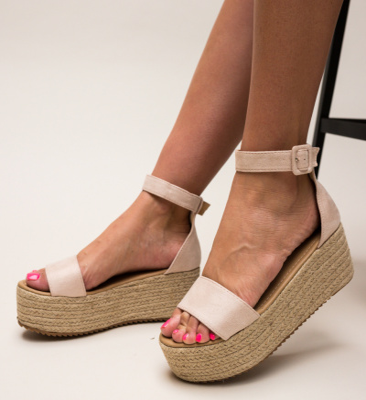 Sandale Meridam Roz