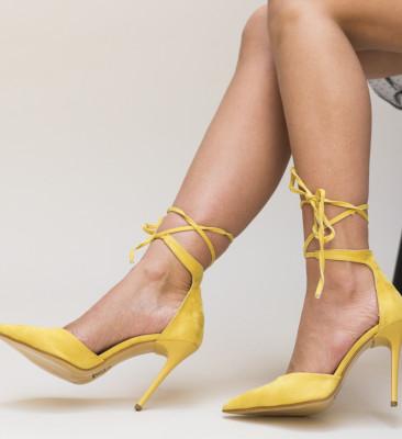 Pantofi Marguta Galbeni