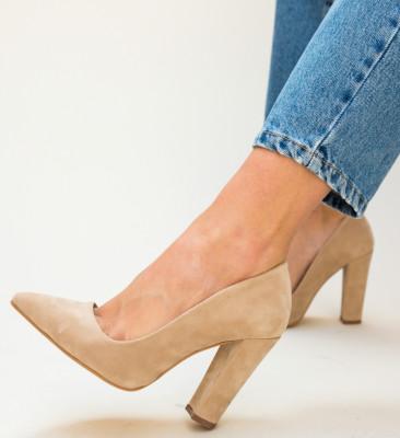 Pantofi Denba Bej