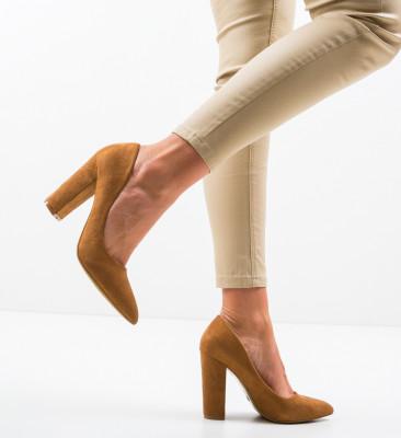 Pantofi Amani Camel