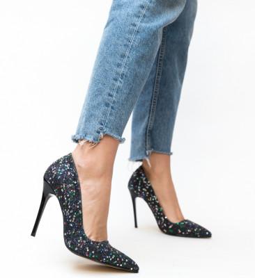 Pantofi Anarhy Negre