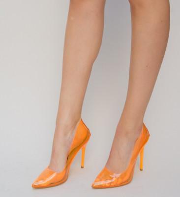 Pantofi Banko Portocalii