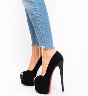 Pantofi Bujor Negri 2