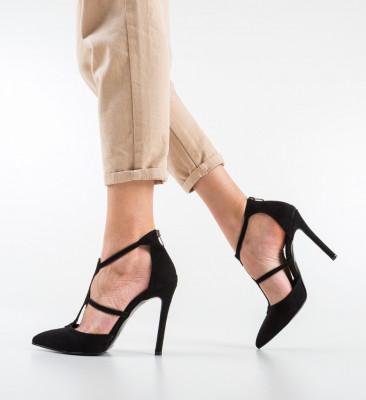 Pantofi Capsulde Negri