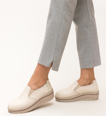 Pantofi Casual Alpino Bej