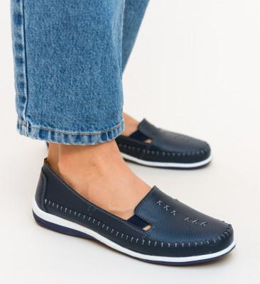 Pantofi Casual Arino Bleumarin