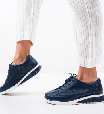 Pantofi Casual Arv Bleumarin
