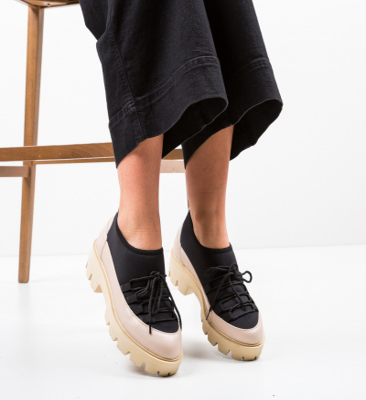 Pantofi Casual Asher Bej