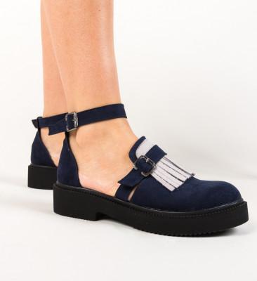 Pantofi Casual Athos Bleumarin