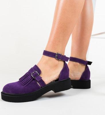 Pantofi Casual Athos Mov