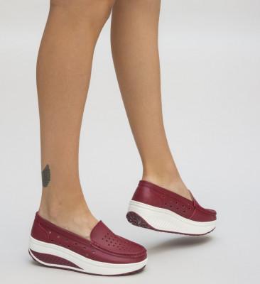 Pantofi Casual Buga Rosii