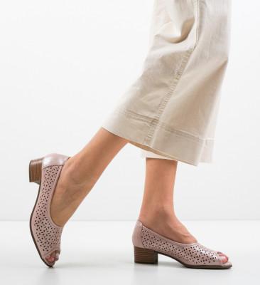 Pantofi Casual Clog Roz