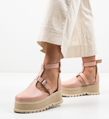 Pantofi Casual Clonata Roz